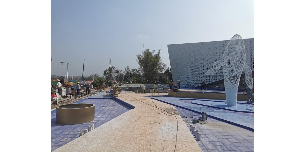 中昂·祥雲府展示區園林景觀工程